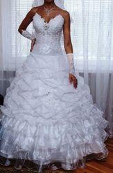 Свадебное платье б/у Бобруйск