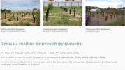 Установка Свайно-Винтового Фундамента под ключ Бобруйский район