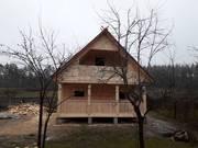 Сруб Дом/Бани из бруса 6х6 м установка Бобруйск и район