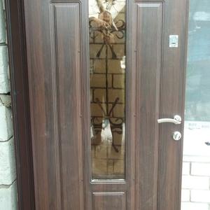 Входные двери теплые не стандарт от производителя под ключ.
