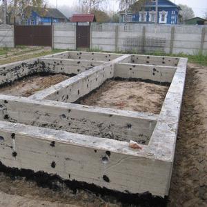 Монолитные работы,  фундаменты под ключ Бобр и район