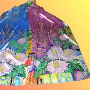 Женские шарфы - подарок к 8 Марта