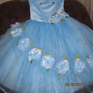 Бальное платье для девочки 6-8 лет.