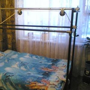 Продам кровать с матрасом и балканской рамой