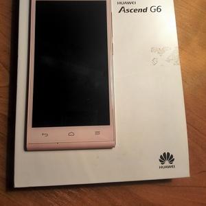 Huawei Ascend G6 розовый