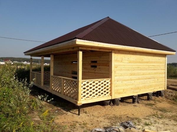 Строим Дома бани из бруса. У нас честная цена 100% Бобруйск 3