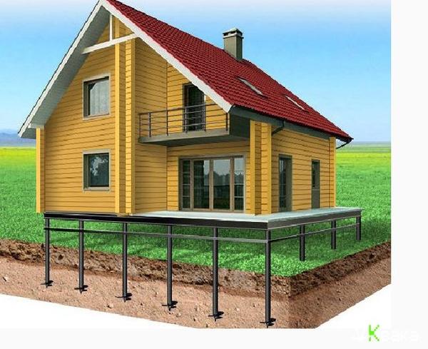 Свайный Фундамент. Дом и Баня под ключ в Бобруйске и рн 2