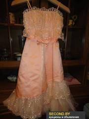 нарядное платье на девочку 5-7 лет